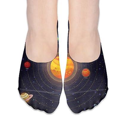 Amazon com: CFECUP Women No Show Socks Set of Flat Doodle Cartoon