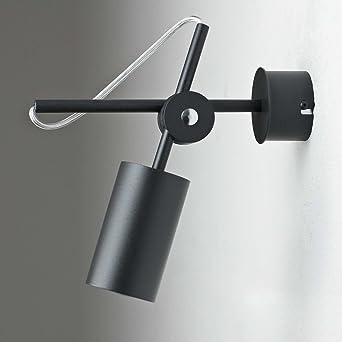Lieblich Schwenkbarer Aufbau Spotstrahler In Anthrazit Vintage Design Inkl. 1 X 3,2W  GU10 LED