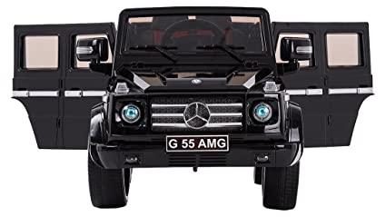 Mercedes Benz G Series Authorized AMG Upgraded Version Ride On Car LED Kids  Vehicle MP3