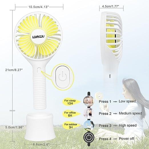 Portable Handheld Fan Summer Home Small Fan Cute Cartoon Bear Usb Charging Fan Study Table Lamp Fan Convenient To Cook Fans