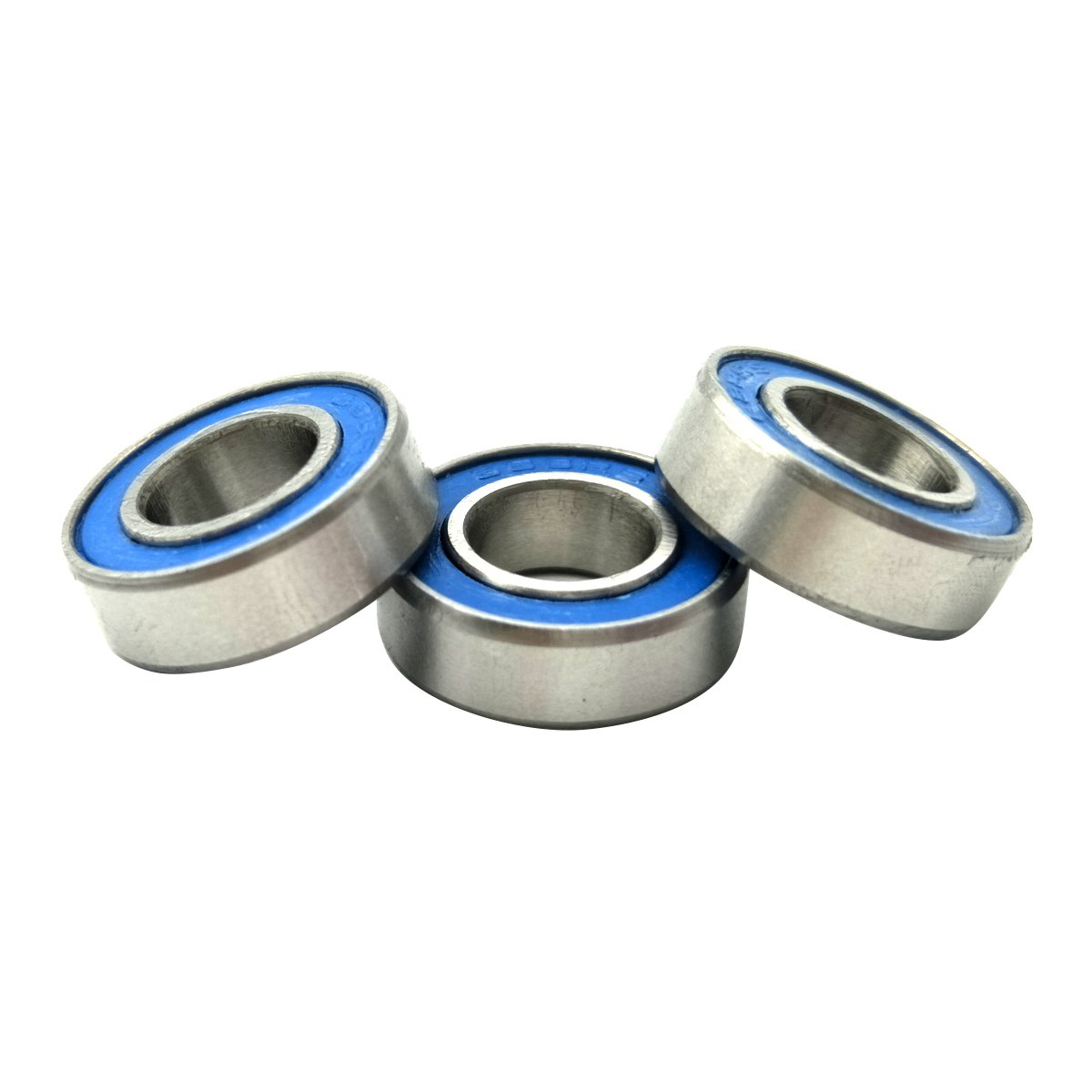 WOSKY 8x16x5mm Replacement Precision Ball Bearings ABEC 3 Rubber Seals 688-2RS-BU for Axial Arrma ECX HPI Kyosho Mugen Traxxas Team Associated RC Cars park of 10