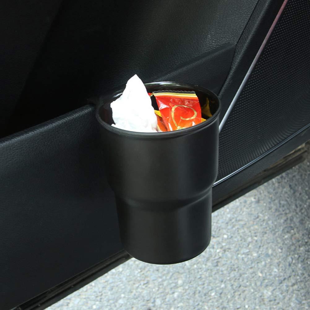 SegRJ4,68 x 3,71 Universal Auto Veh/ículo Interior Garbage Basura latas Coin Sundries Mini Organizador de Almacenamiento