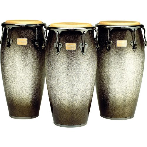Tycoon Percussion 10 Inch Master Platinum Fade Series Requinto With Single Stand by Tycoon Percussion