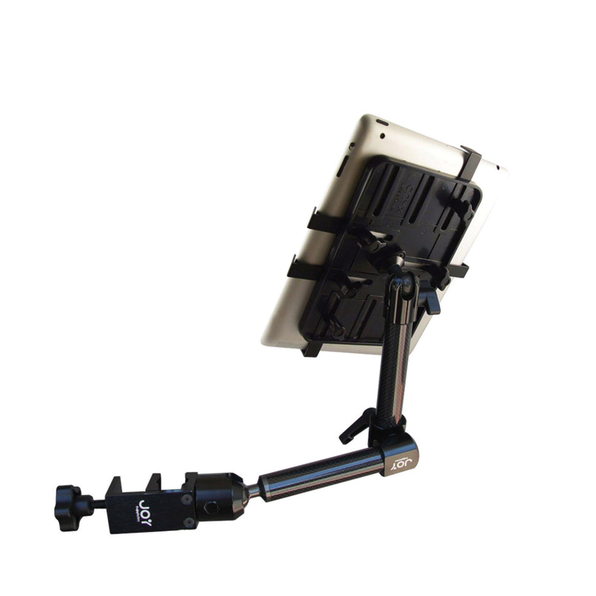 The Joy Factory Unite Universal Carbon Fiber Wheelchar Mount for 7''-11'' Tablets (MNU107)