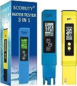 Water Quality Test Meter,Digital Ph Pen Meter,TDS Meter Digital Water Tester,3