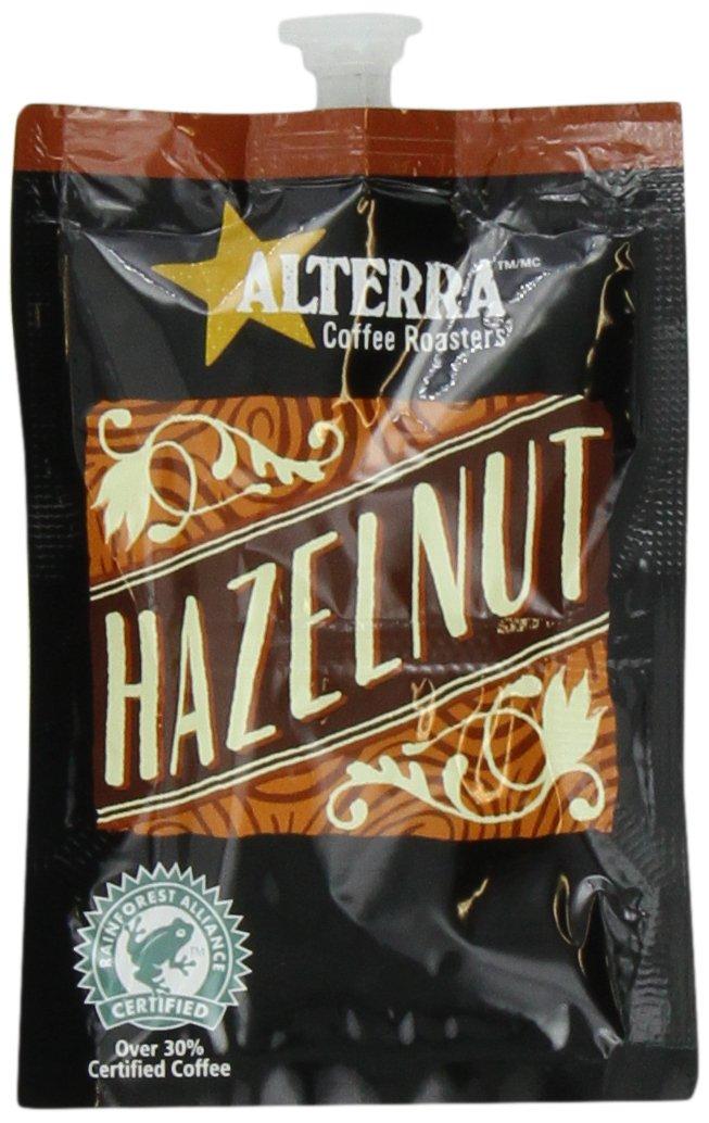 FLAVIA ALTERRA Coffee, Hazelnut, 20-Count Fresh Packs (Pack of 5)