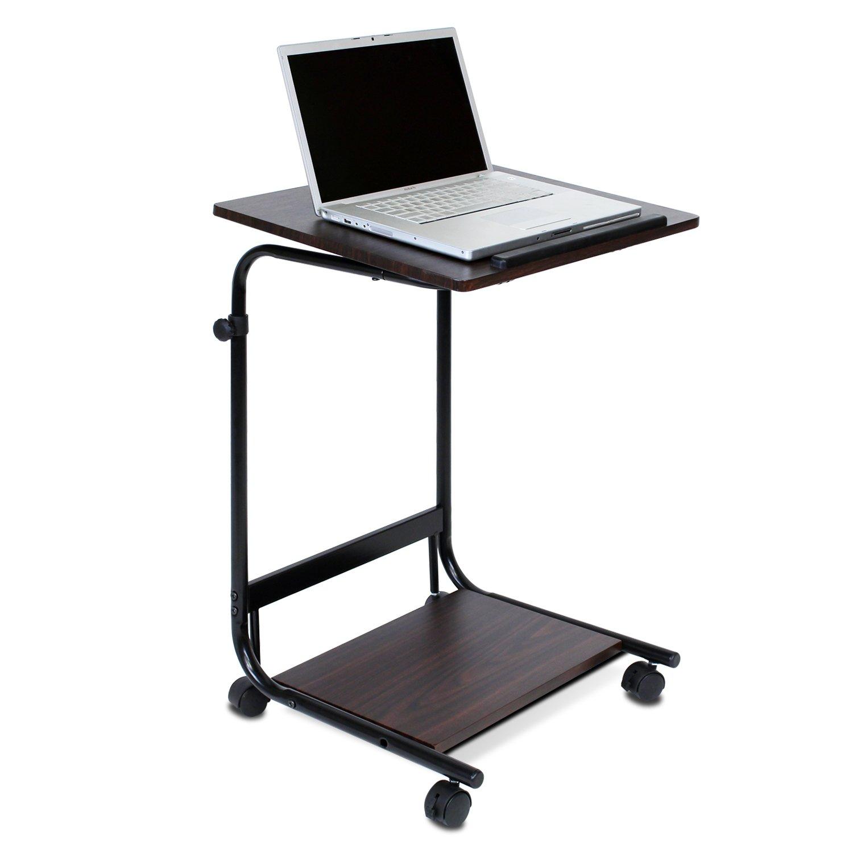 Amazon.com: Furinno FNBL-22090 Boyate Adjustable Rolling Laptop ...