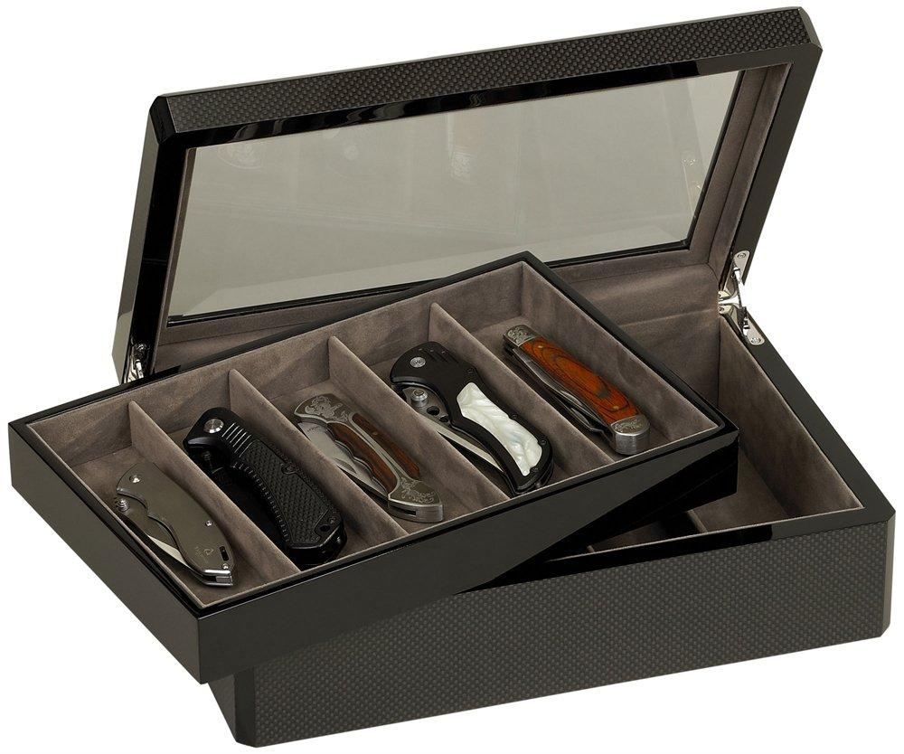 Venlo Carbon Fiber Collection 10 Knife Case