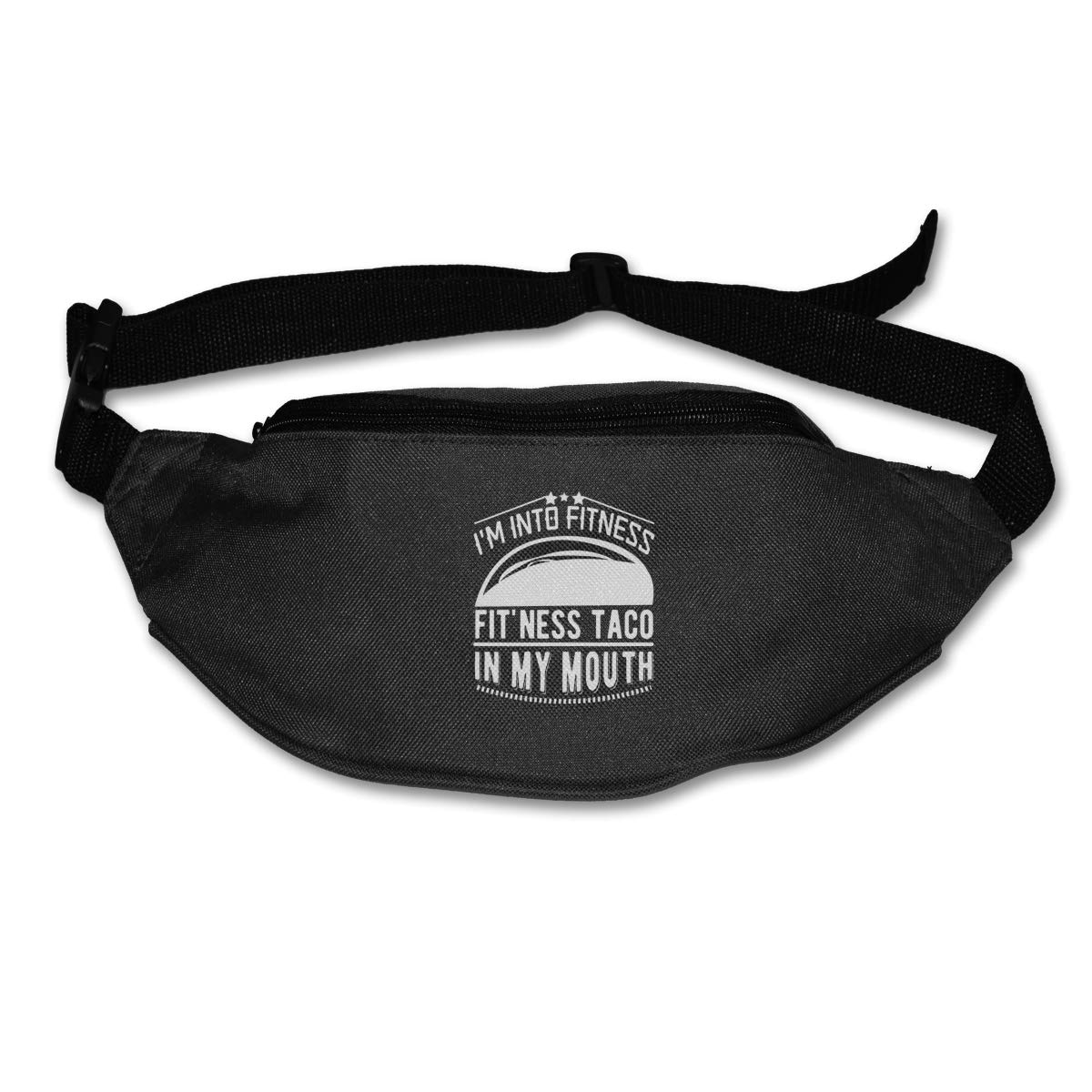 Im Into Fitness Fitness Taco In My Mouth Waist Pack Fanny Pack For Travel