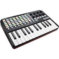 AKAI Professional APC Key 25 - Contrôleur MIDI,USB pour Ableton LIVE avec 25 Touches Sensibles, VIP 3 et Pack de Logiciels Inclus, Noir