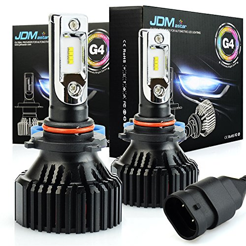 JDM ASTAR Newest Version G4 8000 Lumens Extremely Bright AEC Chips 9005 All-in-One LED Headlight Bulbs Conversion Kit, Xenon White 94 Mitsubishi Eclipse Headlight