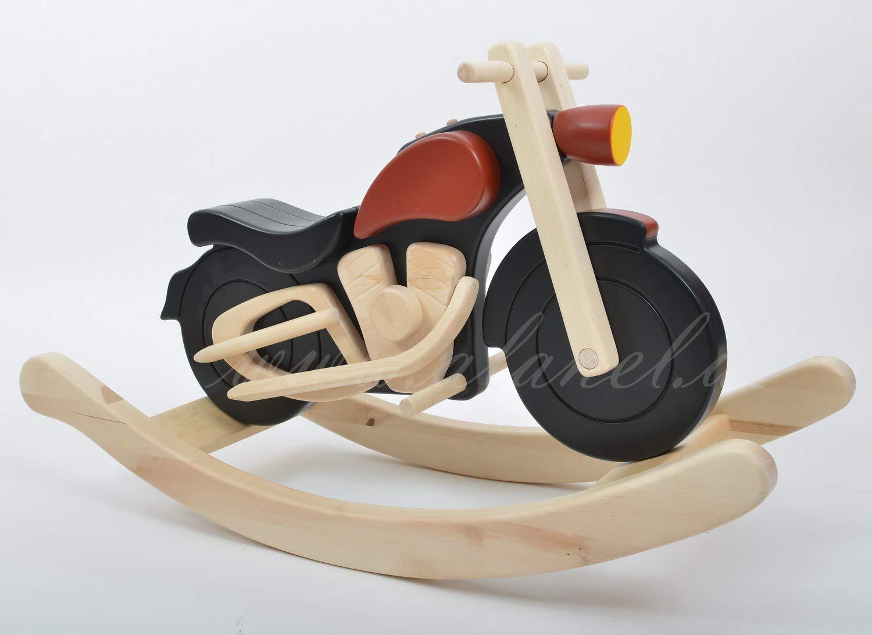 Schaukelmotorrad Schaukelpferd Holzspielzeug Motor Bike HARLEY NEU von ALANEL