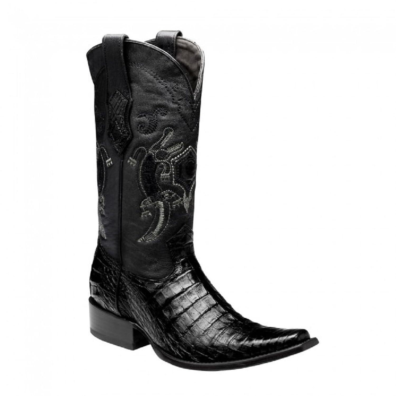 1B18FY Crocodile Western Cuadra Boots