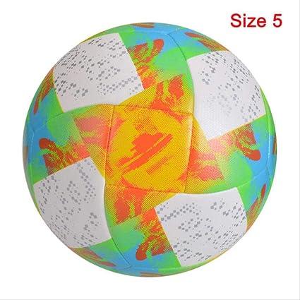 zuq Balón de fútbol para Partidos de fútbol, tamaño estándar 5 ...