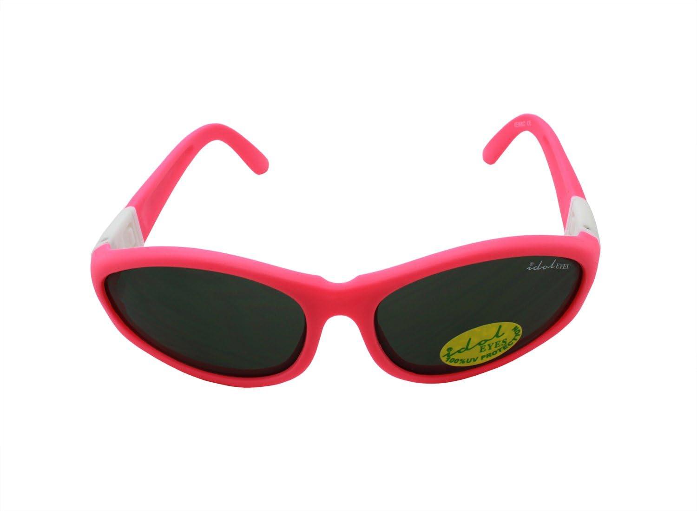"""colore: rosa con 2 fasce e aste collegabili Idol Eyes /""""Baby Wrapz 2/"""" per bambini da 0 a 5 anni Occhiali da sole convertibili"""