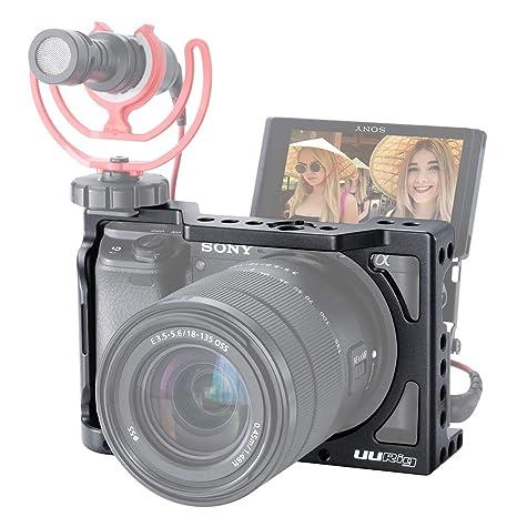 Cámara UURIG C-A6400 para Sony A6400 A6300 A6100 Vlogging ...