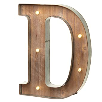 Letter O Choice of Alphabet Letters Vintage Illuminated Carnival Lights A-Z