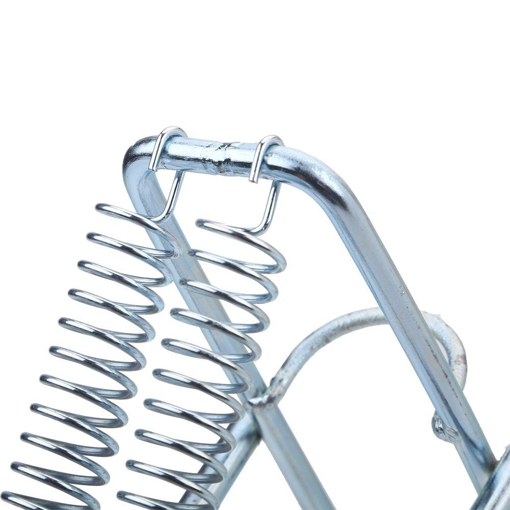 Metall Angelrutenhalter Ruten St/änder mit automatischem Klappspanner Doppelt Federhalter Rack mit automatischem Tip Up Hook Setter