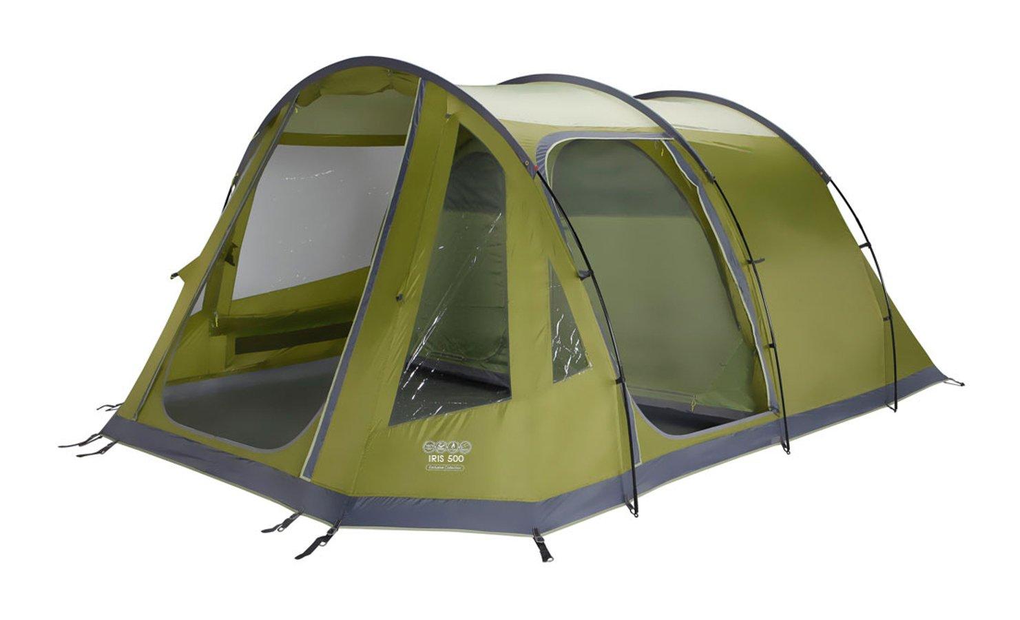 Vango Iris V 500 Tent - 5 person Tent - 2015