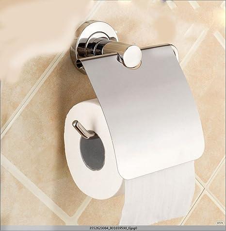 Acero inoxidable baño baño cama toallas de papel Papel Higiénico rack rack