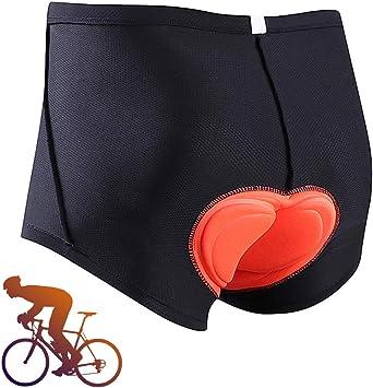 MEETYOO Pantalones Cortos de Ciclismo Hombre, Culotte Bicicleta ...