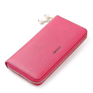 0fbb4059167e DIDE 財布 レディース ブランド 女優愛用 真珠 長財布 三つ折り おしゃれ 大容量 イブニングバッグ