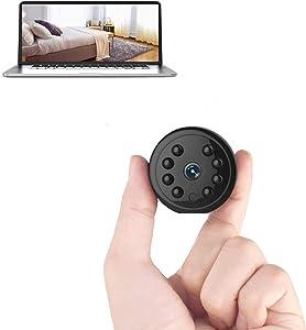 Hidden Camera Spy Camera Mini Camera Motion Detection Long Time Recording Surveillance Camera for Home Monitoring…
