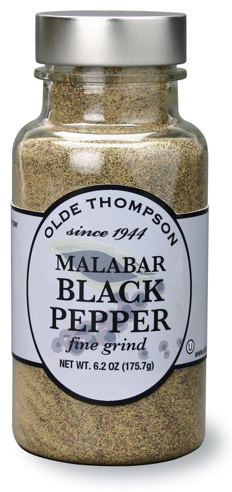 Olde Thompson Malabar Fine Pepper Shaker Refill, 6.2 oz by Olde Thompson