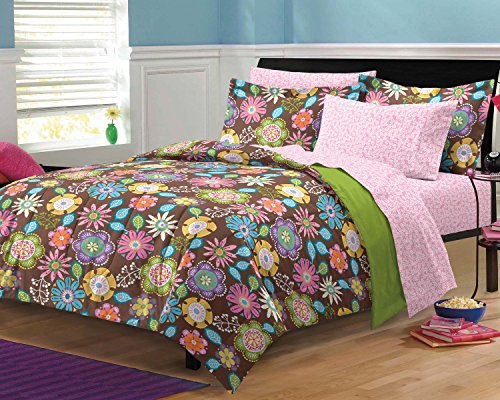 My Room Boho Garden Ultra Soft Microfiber Girls Bedding C...