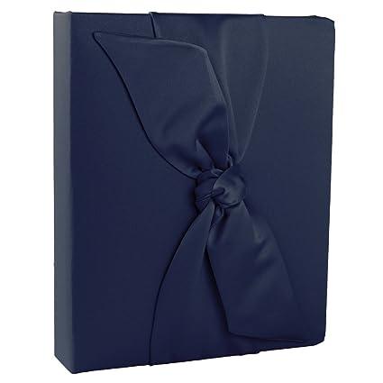 Ivy Lane Design Love Knot Wedding Memory Book, Navy