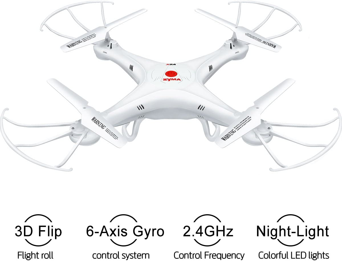 Syma X5A-1 is at # 10 for best drone without camera