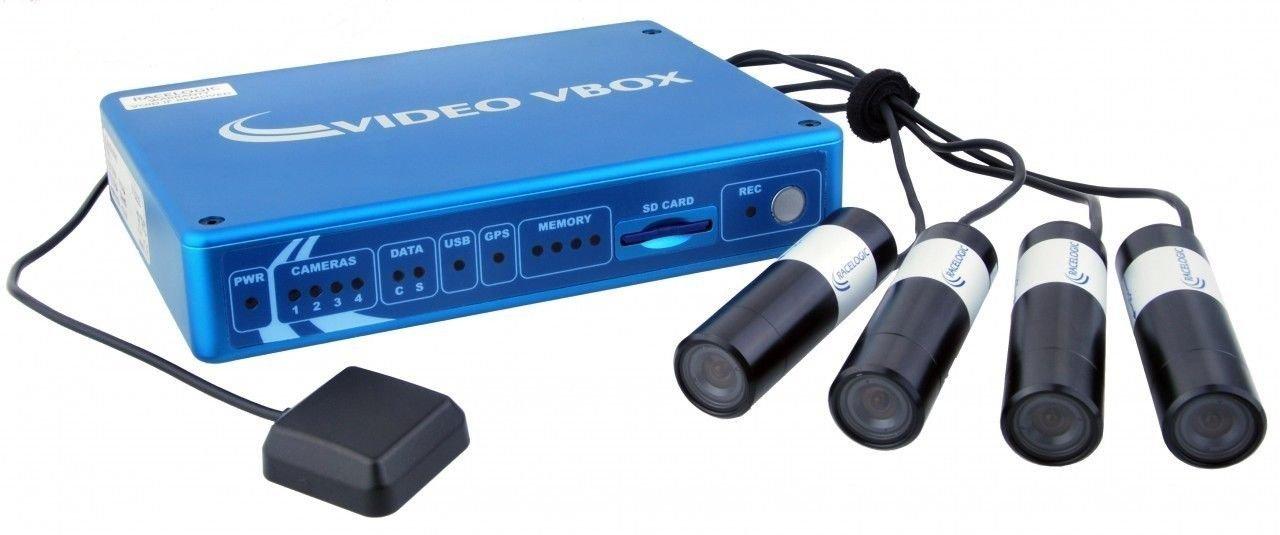 Video VBOX Pro 10Hz GPS Data Logger with VCI, 4 Camera (PAL) System
