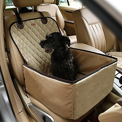 Systond Pet Dog Car Seat Cover Waterproof Booster Seat Carrier Protector 2 in 1 Deluxe Cat Front Seat Case Cushion with Non- Slip Backing for Travel Outdoor Boosterseat02 by Systond (Image #7)