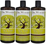 Dr. Woods Pure Tea Tree Liquid Castile Soap, 32 Ounce (Pack of 3) For Sale