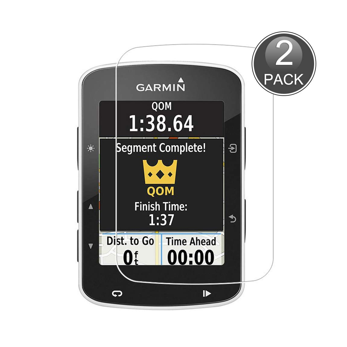 E-Hamii [2-Pack Garmin Edge 520 Protector de Pantalla, 0.26mm HD ...