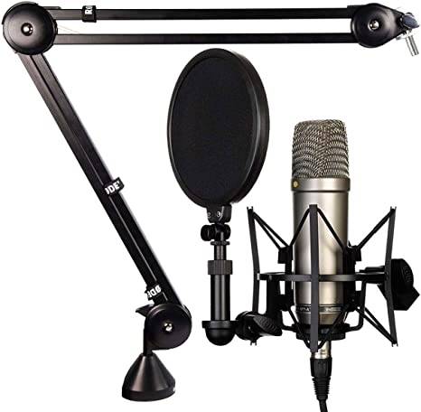 Rode NT1-A - Juego de micrófono y trípode de mesa para PSA-1 ...