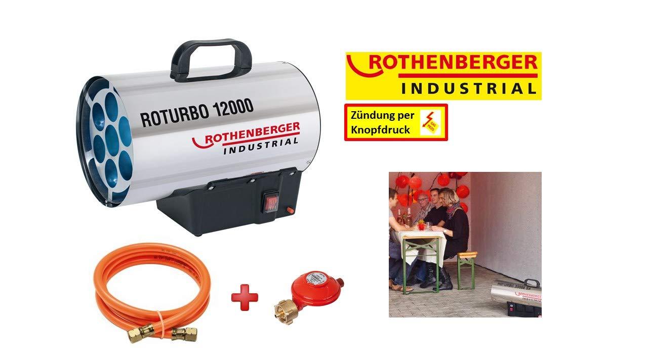 Rothenberger 1500000050 RoTurbo 12000 Canon /à chaleur au gaz