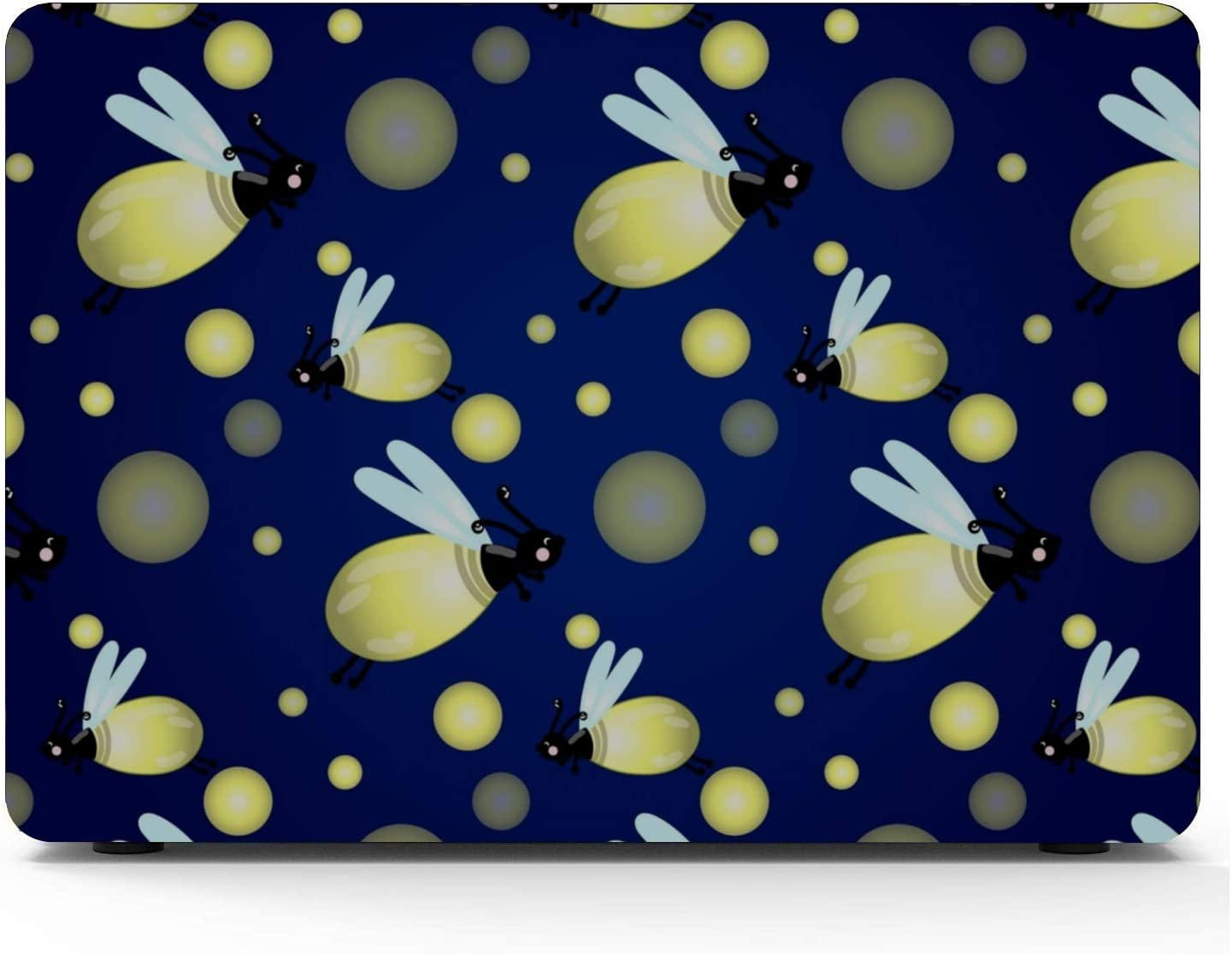 Cover for MacBook Air Shining Colorful Romantic Art Gift Plastic Hard Shell Compatible Mac Air 11 Pro 13 15 MacBook Protector Protection for MacBook 2016-2019 Version