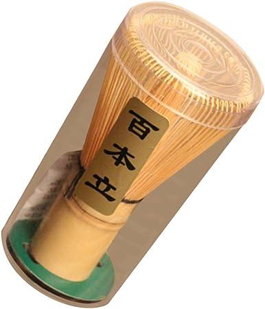 Image ofChasen Bambú Herramienta Batidor de Polvo Matcha Té Japonés Accesorio Ceremonia - 75-80