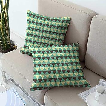 Amazon.com: Ediyuneth - Funda de almohada decorativa de ...