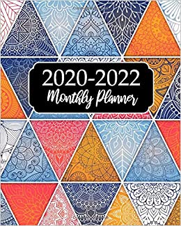 2020-2022 Monthly Planner: Beautiful Mandala, 36 Months ...