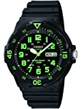 Casio Enticer Analog Black Dial Men's Watch - MRW-200H-3BVDF (A743)