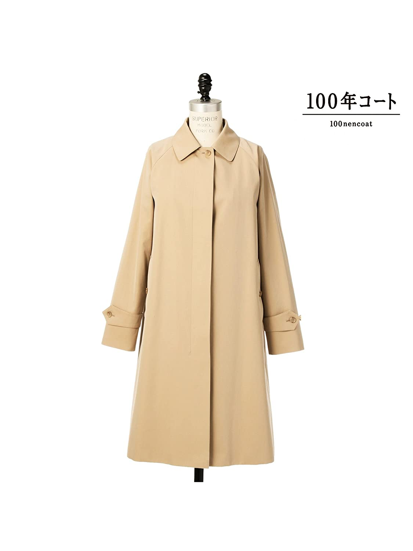 (サンヨー) SANYO 〈100年コート〉クラシックバルカラーコート T1A78011_ B076BW6R9Z 36|ベージュ(45) ベージュ(45) 36
