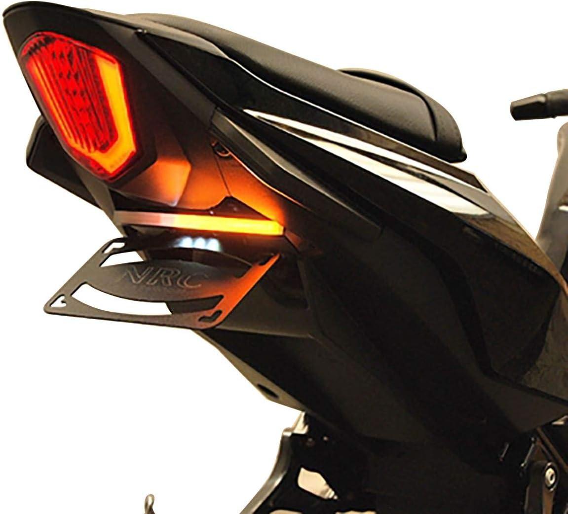 Compatible with 18-19 Suzuki GSX250R Black R/&G Racing Fender Eliminator Standard