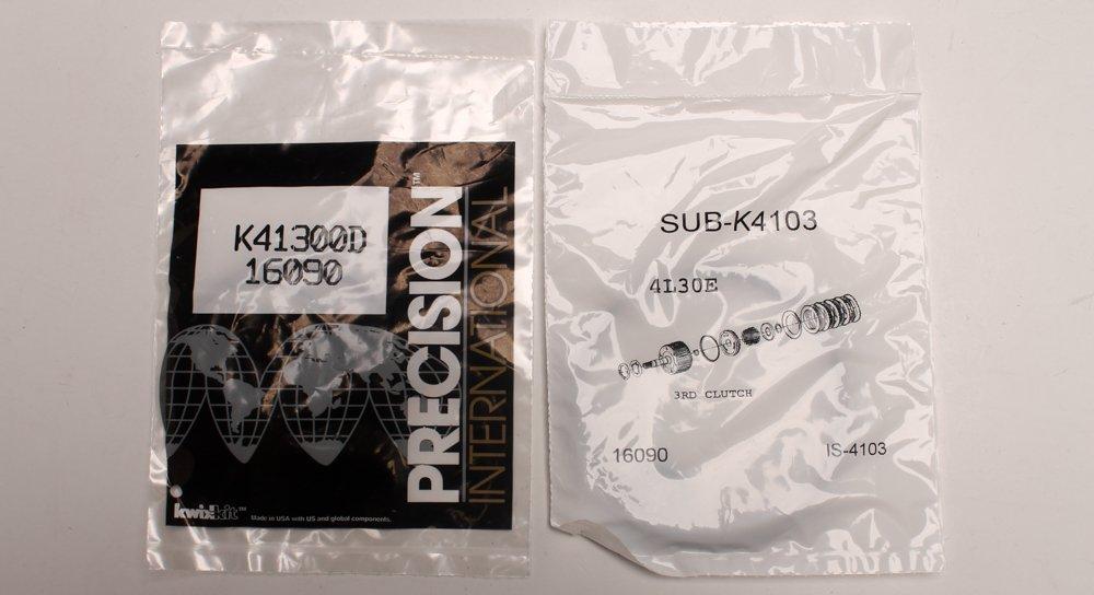k41900emd - 4l30e, reconstruir Kit de reparación, 4 velocidad, RWD, 1989 - 2004: Amazon.es: Coche y moto