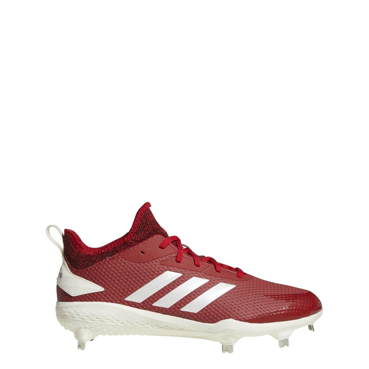 adidas Men's Adizero Afterburner V Baseball Shoe B07BHKYF1Q 12.5 D(M) US|Power Red/Cloud White/Black