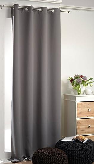 verdunkelungsvorhang grau. Black Bedroom Furniture Sets. Home Design Ideas