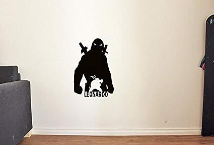 Amazon.com: Cool Silhouette Leonardo Teenage Mutant Ninja ...