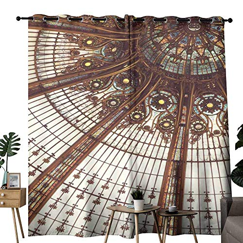 duommhome Kids Room Curtains Galeries Lafayette Suitable for Bedroom Living Room Study, etc.W72 x L96 ()