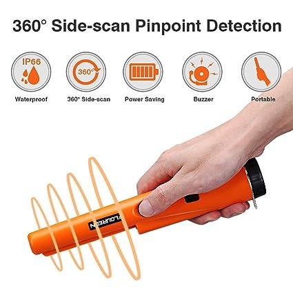 FLOUREON – Detector de metales Naranja